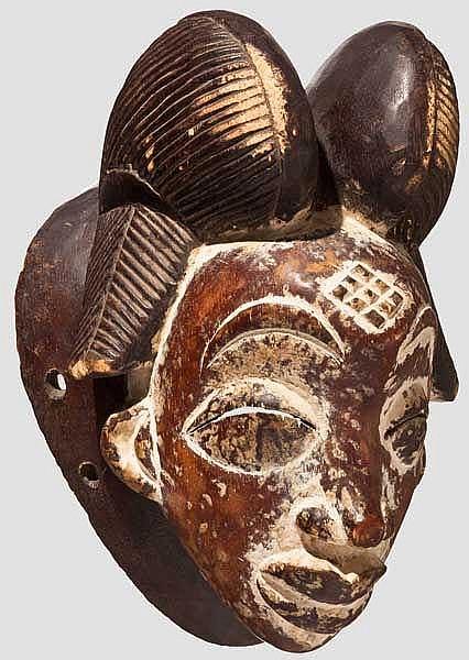 Maske der Punu, Gabun