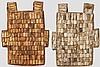 Zwei Rüstungen der Toraja, Sulawesi, neuzeitliche Anfertigungen