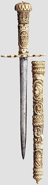 Historismus-Landsknechtsdolch, Frankreich um 1860