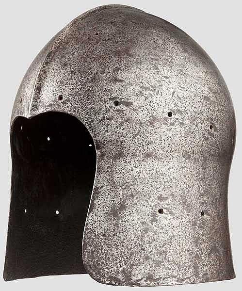 Barbuta, Historismus im Stil um 1460