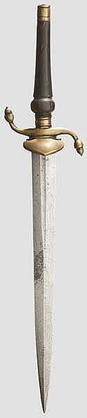 Jagdliches Spundbajonett, deutsch um 1830