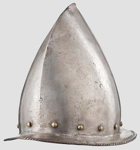 Hohe Schützenhaube, deutsch oder flämisch um 1600