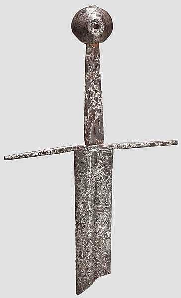 Fragment eines ritterlichen Schwertes, um 1300