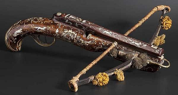 A German deluxe pistol crossbow, circa 1760