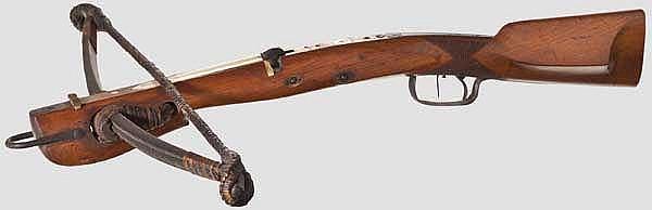 Schützenarmbrust, verm. Sachsen, 2. Hälfte 19. Jhdt.