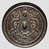 Bronzespiegel, China, 18./19. Jhdt.
