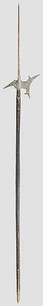 Helmbarte, süddeutsch um 1580
