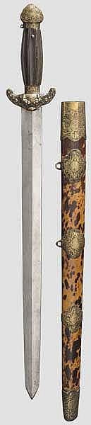 Kurzschwert, China um 1900