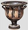Hochwertige Imitation eines apulischen Glockenkraters des späten 4. Jhdts. v. Chr.