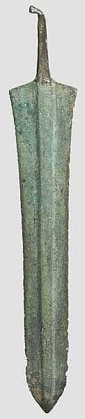 Griffangeldolch, Mittlere Bronzezeit Luristans, 1. Hälfte 2. Jtsd. v. Chr.