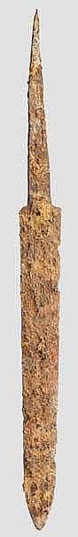 Eiserne Schwertklinge, Typ Lauriacum-Hromovka, römisch, 2. - 3. Jhdt.