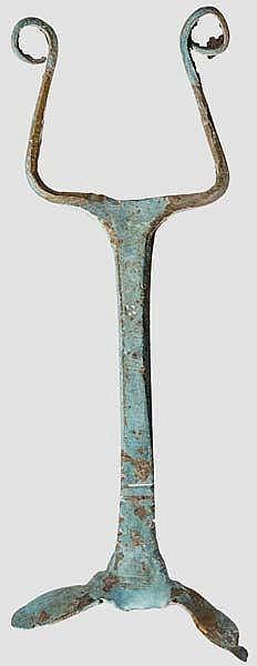 Helmbuschhalter, römisch, 1. Jhdt. n. Chr.