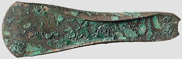 Randleistenbeil, Frühe bis Anfang Mittlere Bronzezeit, 20. - 15. Jhdt. v. Chr.