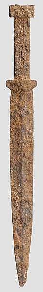Eiserner Akinakes, skythisch, 5. - 3. Jhdt. v. Chr.