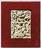 Elfenbeinplakette mit Hochzeit von Vertumnus und Pomona, um 1600