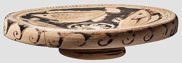 Fischplatte, großgriechisch, 4. Jhdt. v. Chr.
