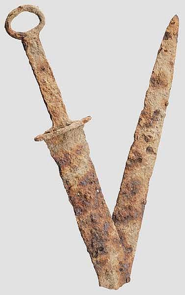 Kurzschwert, sarmatisch, 2. Jhdt. v. - 1. Jhdt. n. Chr.