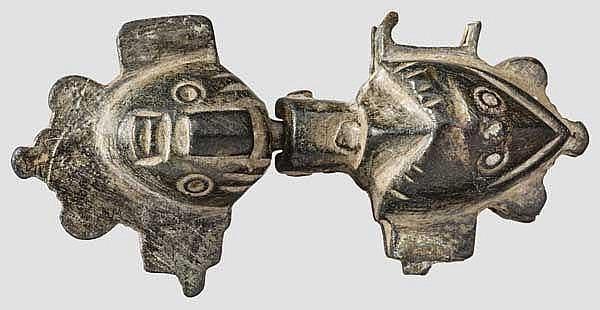 Maskenschloss, römisch, 2. - 3. Jhdt.