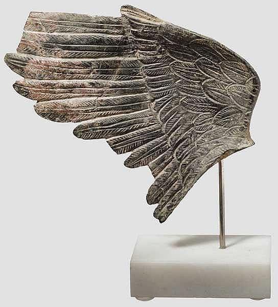 Bronzeflügel, späthellenistisch - frührömisch, 1. Jhdt. v. - 1. Jhdt. n. Chr.