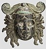Applik in Gestalt einer Theatermaske, römisch, 1. - 2. Jhdt.