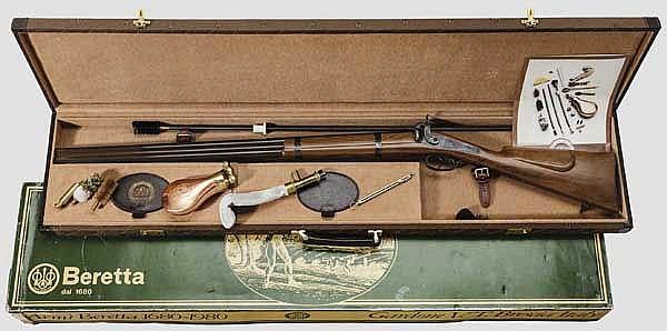 Perkussionsbockdoppelflinte Beretta, Mod 1680 - 1980