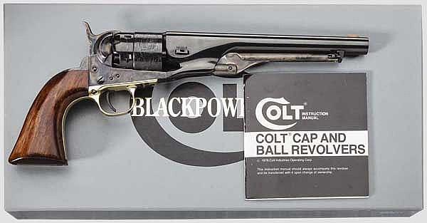 Authentic Colt Mod. 1860 Army, Signature Serie, Postwar, im Karton