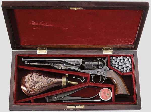 Hege-Uberti Colt Mod. 1861 Navy, im Kasten