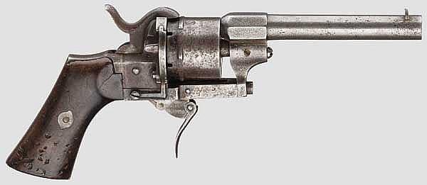 Belgischer Stiftfeuerrevolver Chaineux, Nr. 2