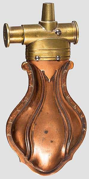 Zündkrautflasche LePage in Paris, um 1850