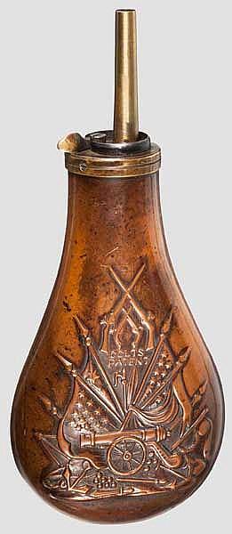 Colt Pulverflasche, um 1860