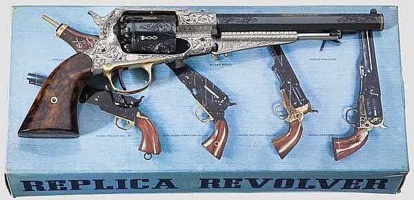 Remington New Model Army, Rigarmi