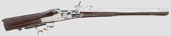 Radschlossbüchse, deutsch um 1700
