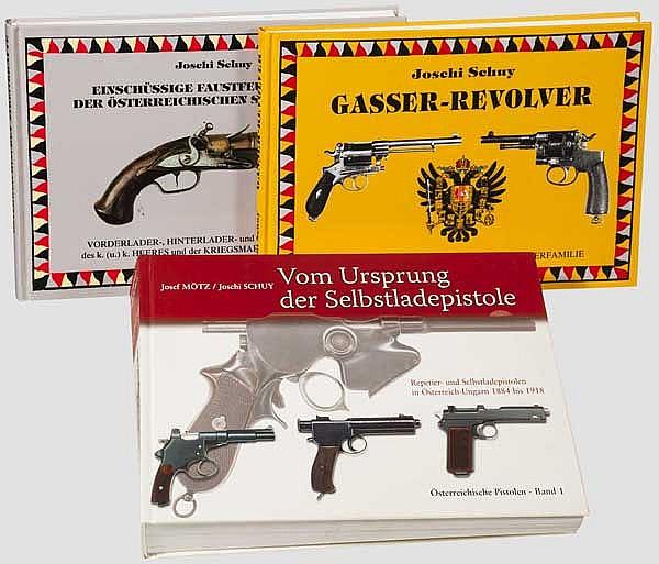 Waffenbücher über österreichische Kurzwaffen, Joschi Schuy