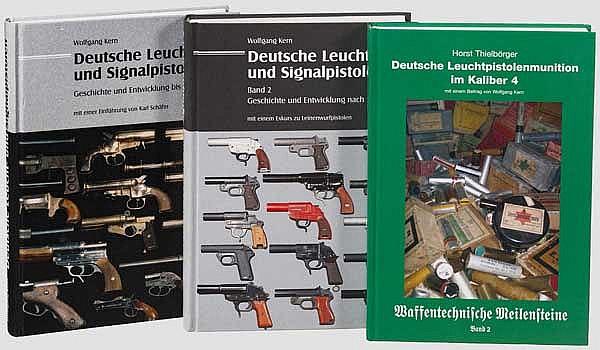 Waffenbücher über Signalpistolen, Kern und Thielbörger