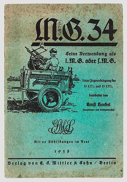 Dienstvorschrift MG 34
