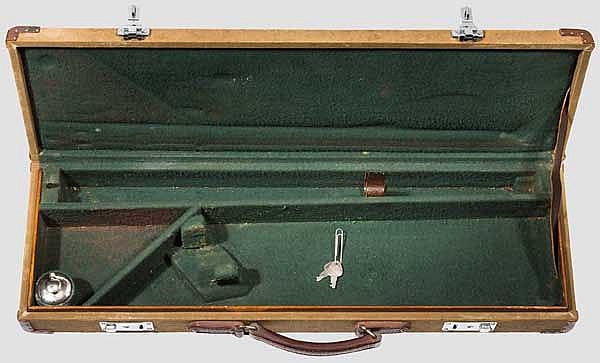 Segeltuchkoffer für Kipplaufwaffe