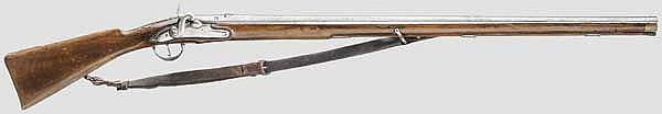 Perkussionsbüchse, Italien(?) um 1820