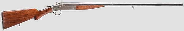 Einzelladerflinte Iver Johnson Champion, Entenflinte, um 1920