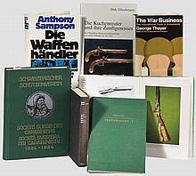 Sieben Bände zu Feuerwaffen