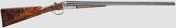 An Austrian side-by-side shotgun Ferlach