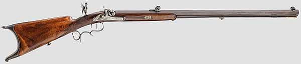 Scheibenbüchse Lotz in Suhl um 1850