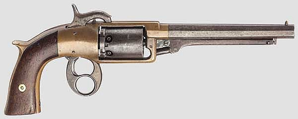 Savage & North Figure 8 Model Revolver, 1st Model, 2nd Variation