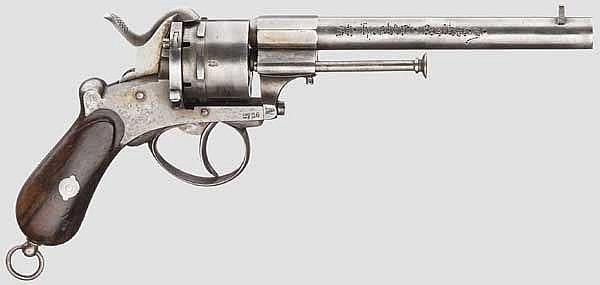 Stiftfeuerrevolver Mod. 1854, Lefaucheux