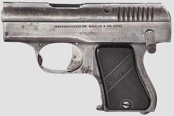Pistole Simson Mod. 1927