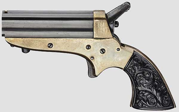 Sharps 4-Shot Pepperbox, Navy Arms