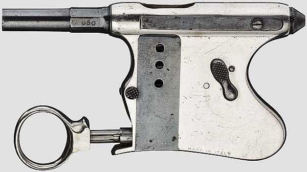 Handdruckpistole Tribuzio, um 1890