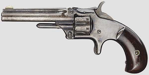 Smith & Wesson Model Number One, 3rd Issue, um 1870