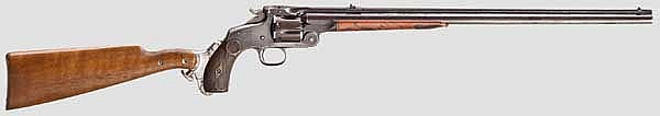 A Smith & Wesson 320 revolving rifle
