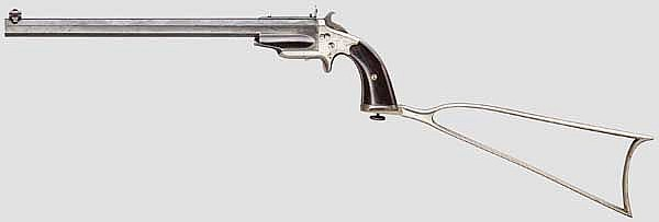 Frank Wesson 1870 Med. Frame Pocket Rifle, 3. Type (