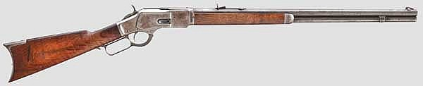 Winchester Mod. 1873, 3rd Model, Half Plated